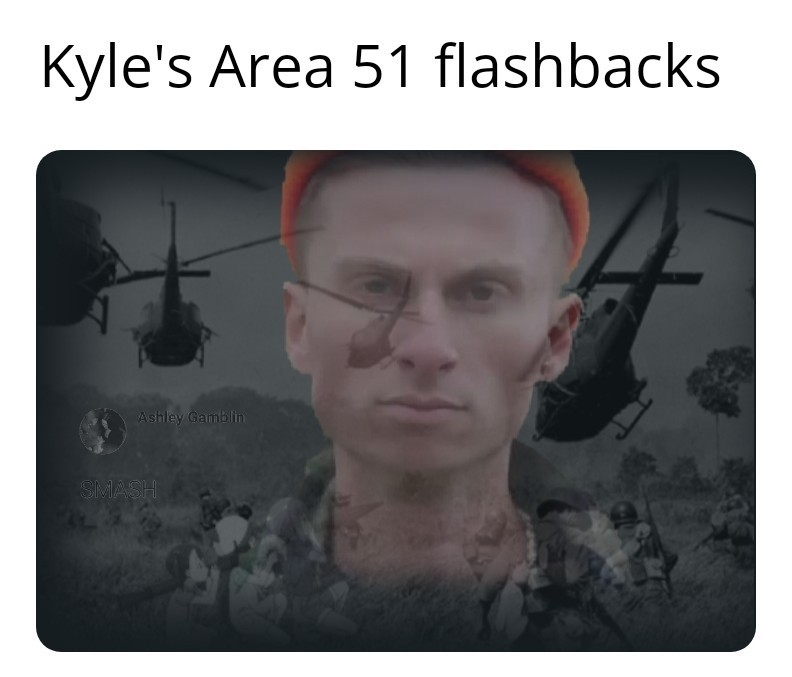 KYLE FLASHBACKS - meme