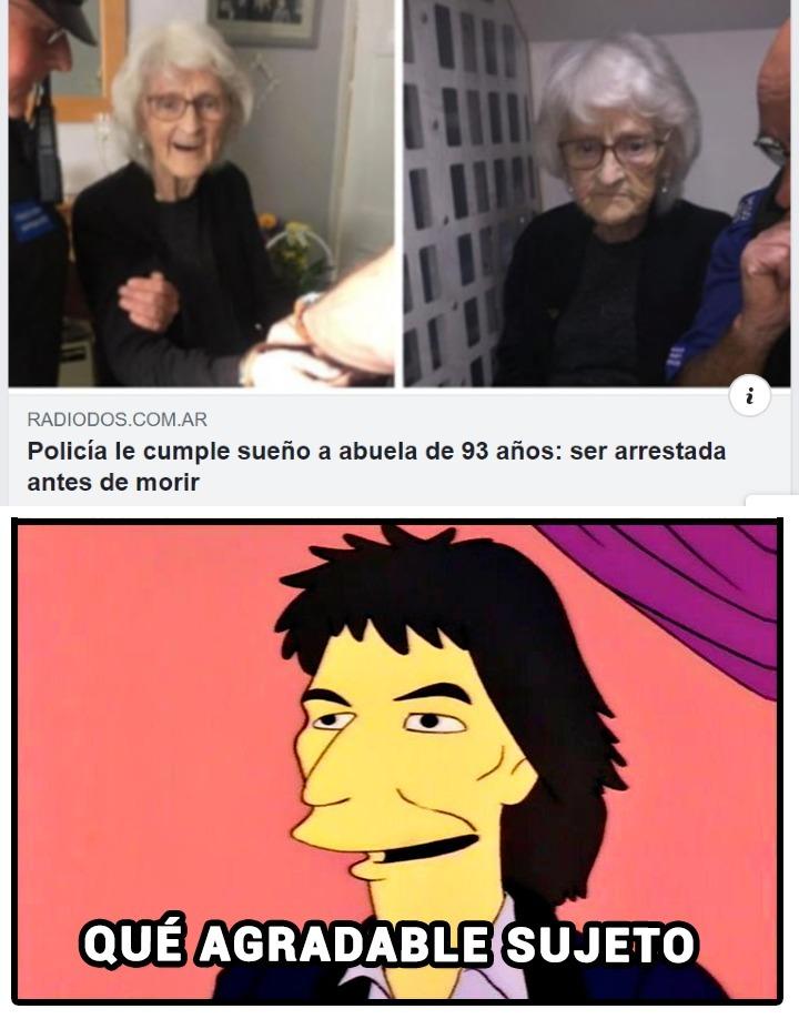 esa abuela es kool - meme