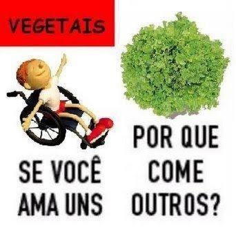 vegano nem é gente - meme