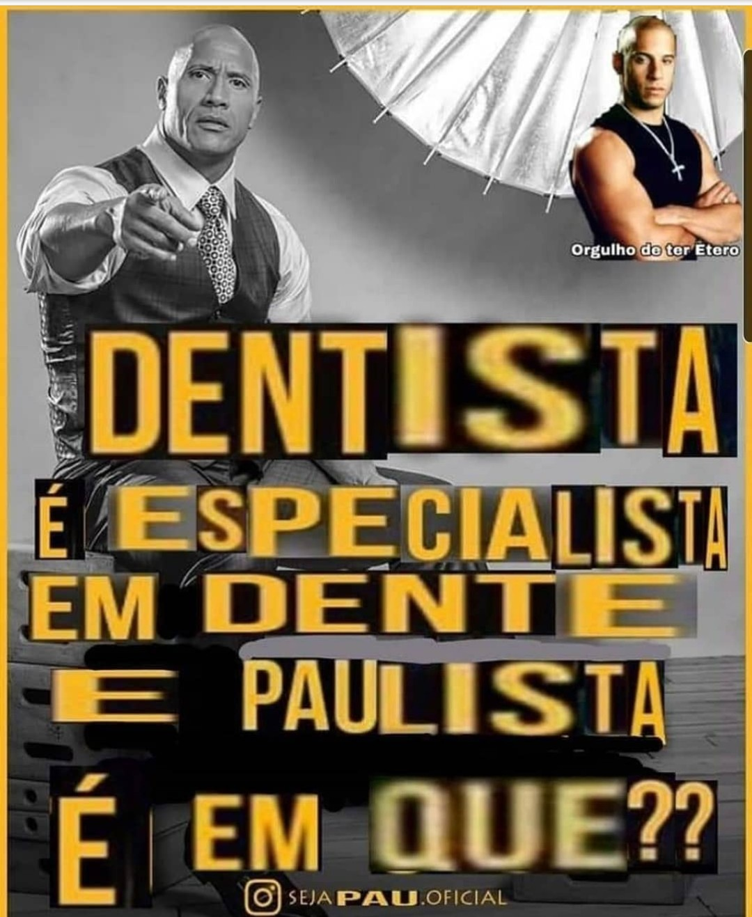 Curitiba é especialista em... - meme