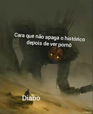 Um monstro - meme