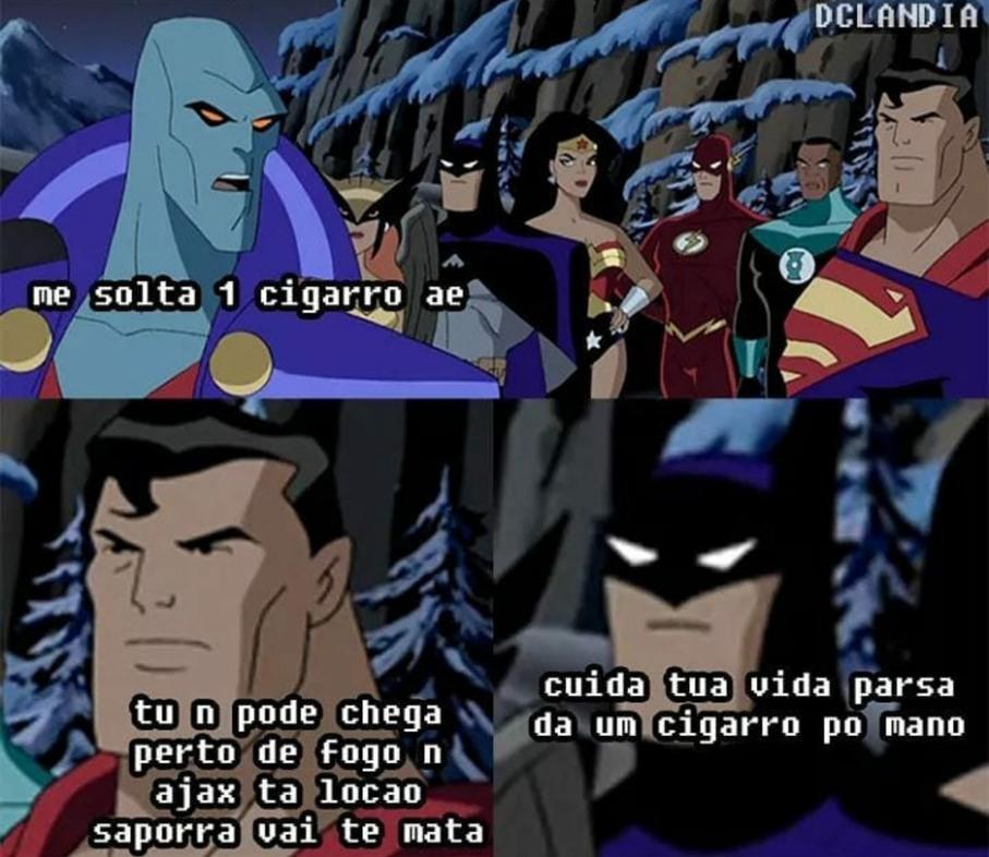Nn sejam o supermano - meme