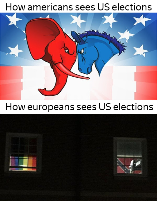 How other countries see our elections lol - meme