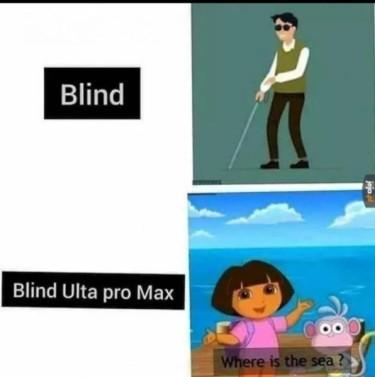 Dora l'aveugle exploratrice - meme