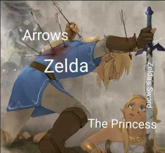 The princess - meme