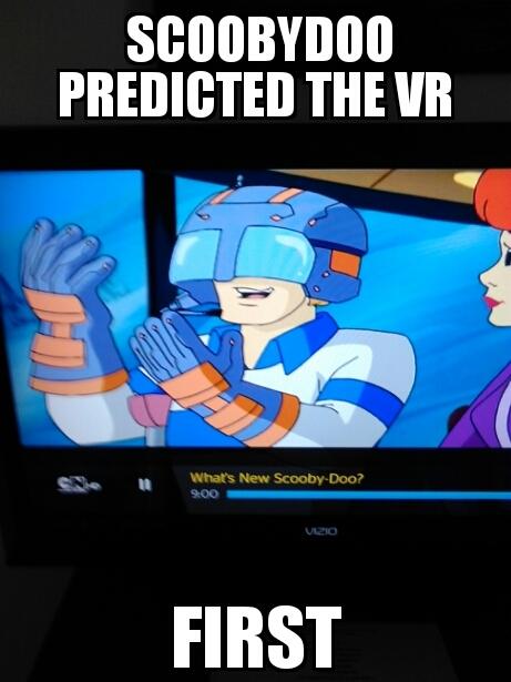 Scooby doo forsaw us - meme