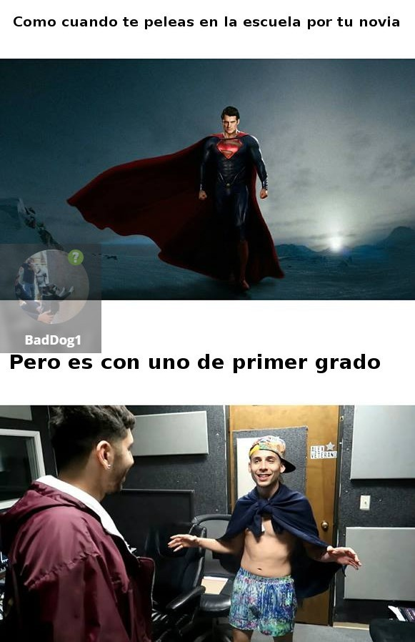 Super Men :v - meme