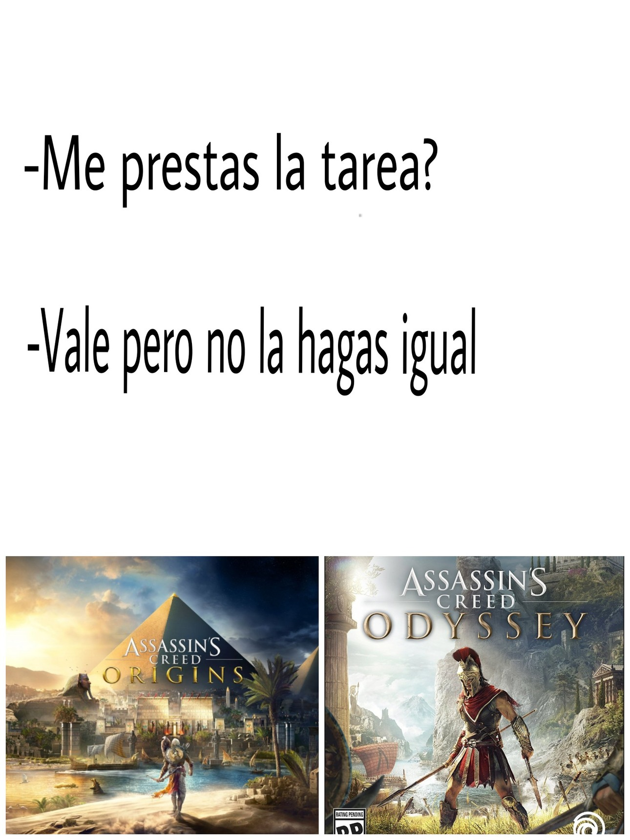 Assassin's Creed - meme