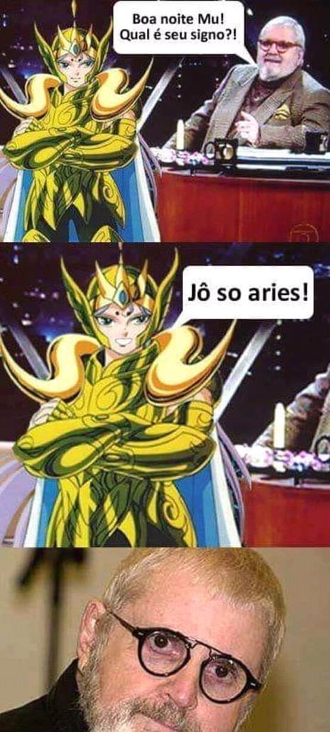 Áries kkk - meme
