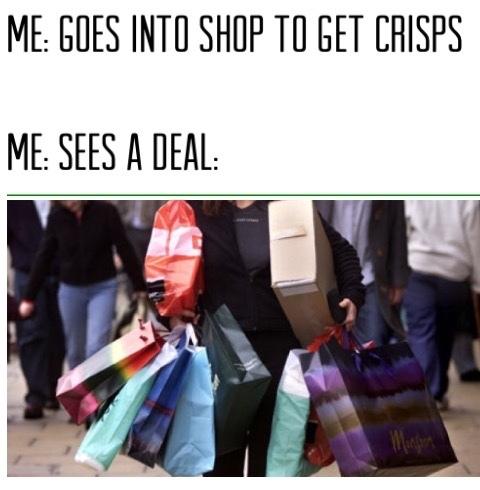 January sales - meme