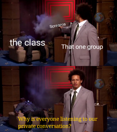That one group - meme