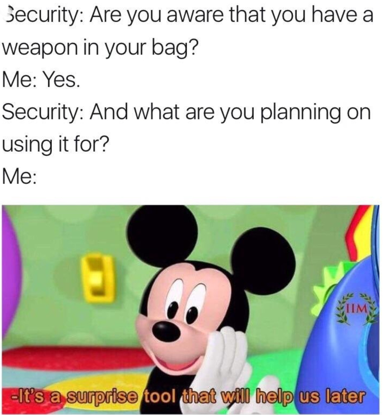 Mickey mouse - meme