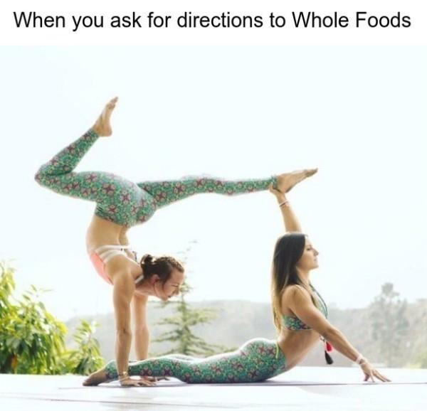 Yoga Pants - meme