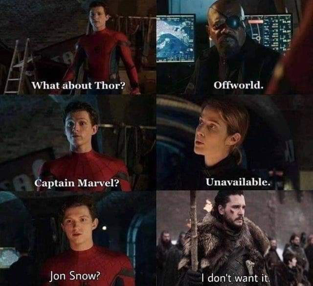 JON SNOW - meme