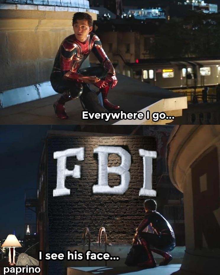 *knock knock knock* FBI OPEN UP! - meme