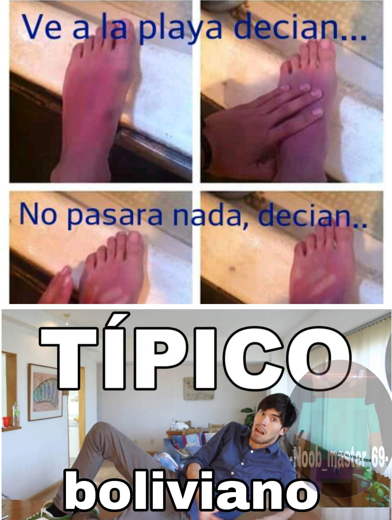Tipico boliviano - meme