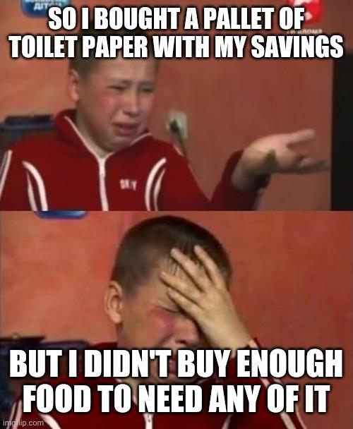Panic buying - meme