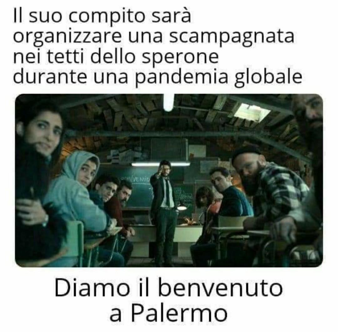 Pasquetta a Palermo - meme
