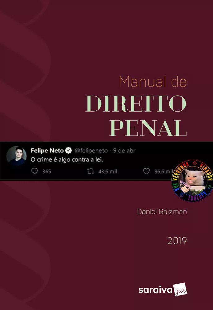 """""""Não aguento mais concordar com o Felipe Neto"""" - meme"""