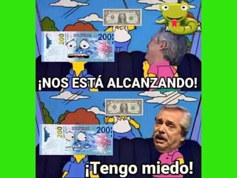 Inflación; Yes - meme