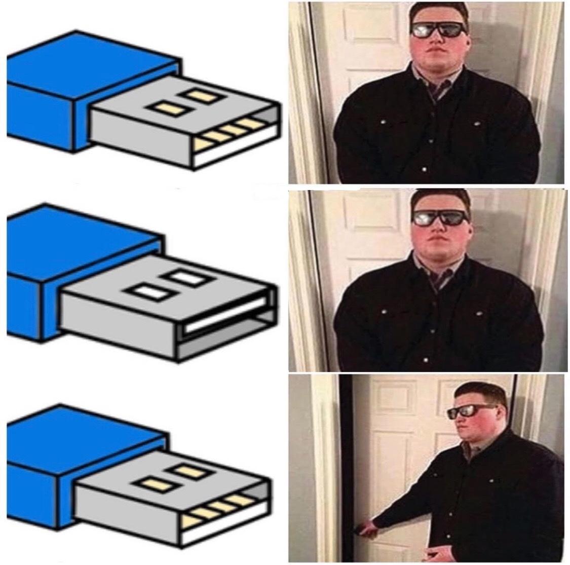 La tercera es la vencida - meme