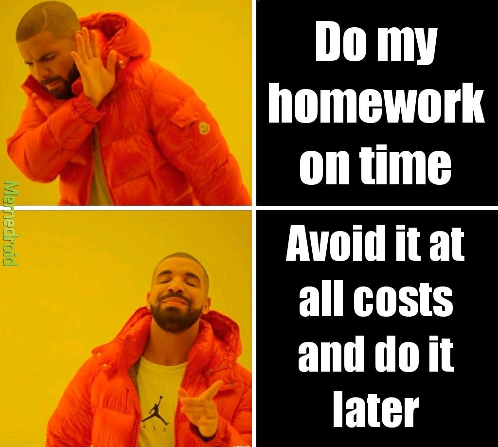 Online school be like - meme