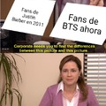 Y los fans de One Direction en 2013