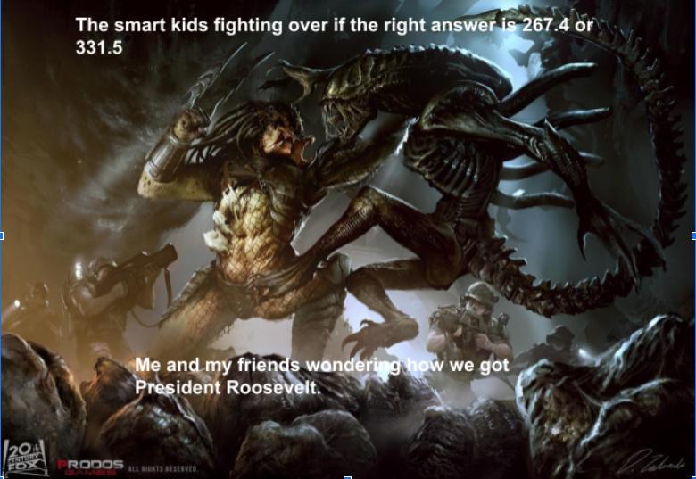 The smart kids fighting - meme