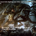 The smart kids fighting
