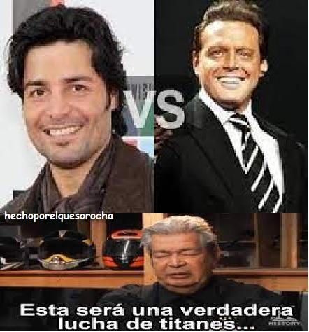 yo Luis Miguel y ustedes? - meme