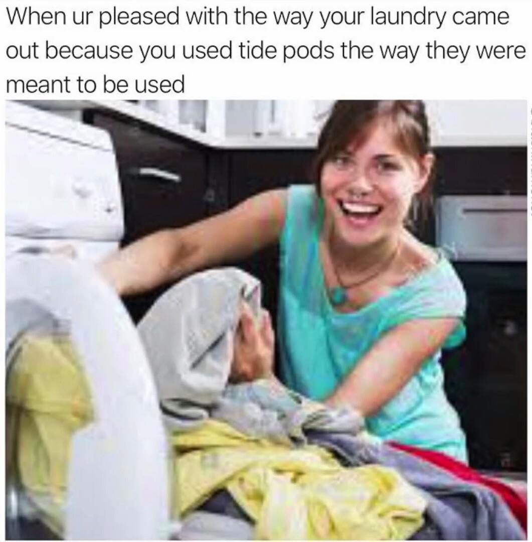 Tide pod - meme