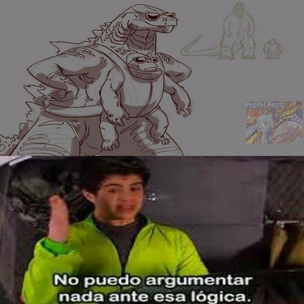 Muy lógico, mr. Plantilla - meme
