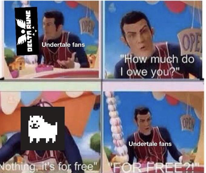 deltatale - meme