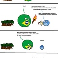 Brazil forest burning