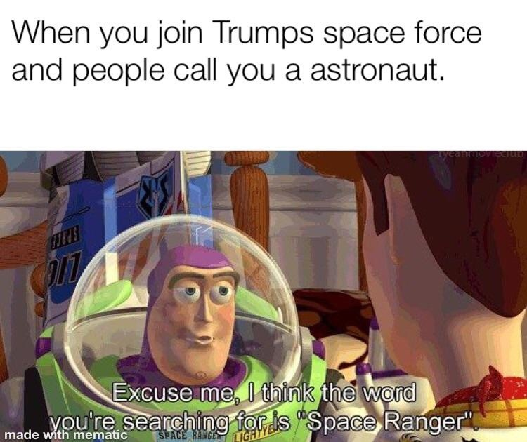 fight the commies up in space - meme