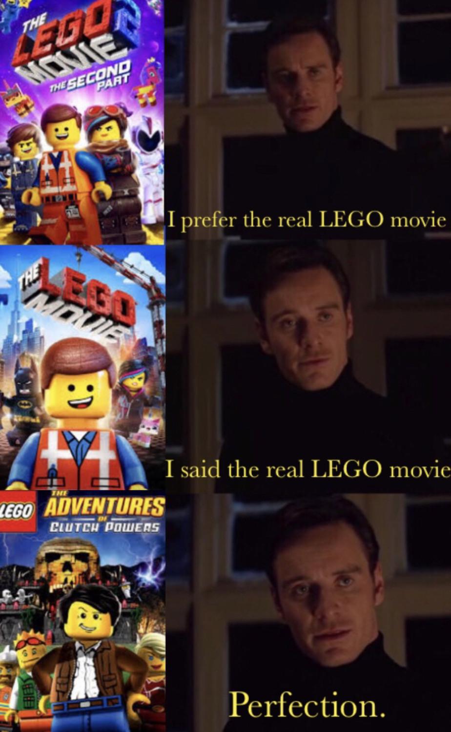 Og LEGO movie - meme