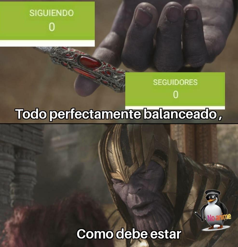 ;-; Balanceado. - meme