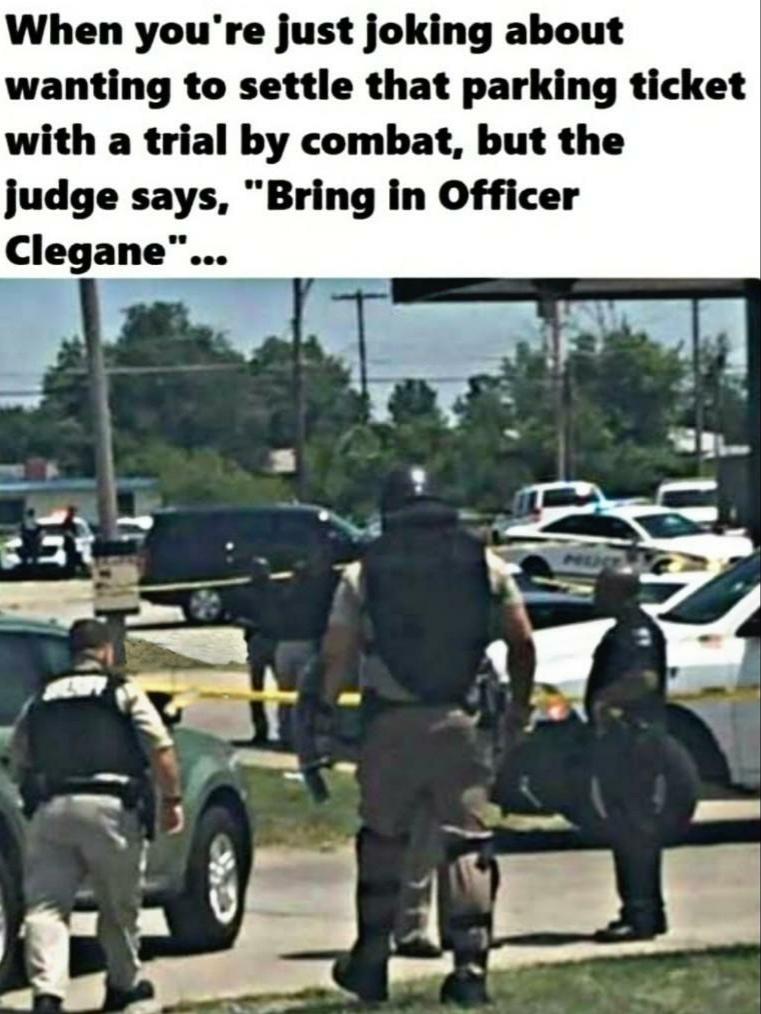 OfficerClegane - meme