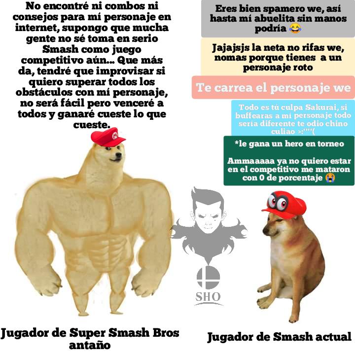 Así el competitivo de smashito - meme