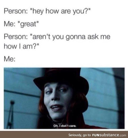 my small talk goes like this - meme