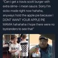 Can't disrespect Travis Scott's hustle.