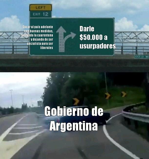 Argentina un pais - meme