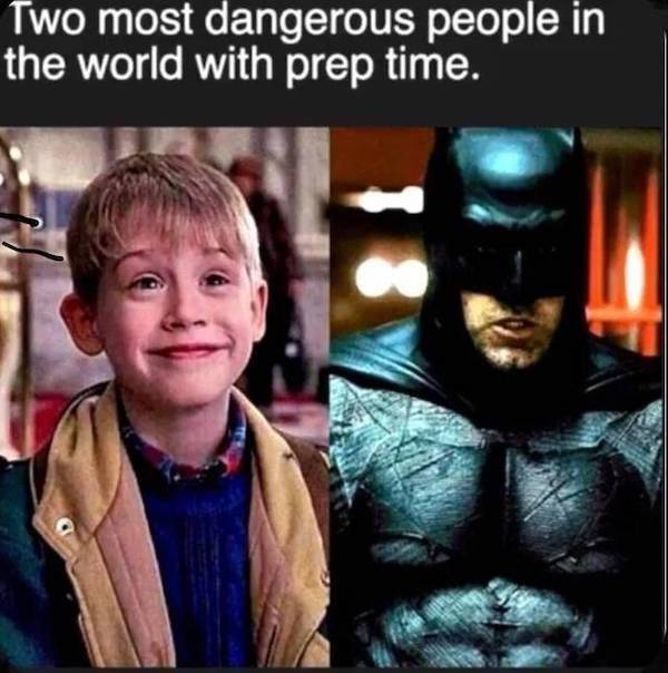 Kevin woulda made a great Robin. - meme