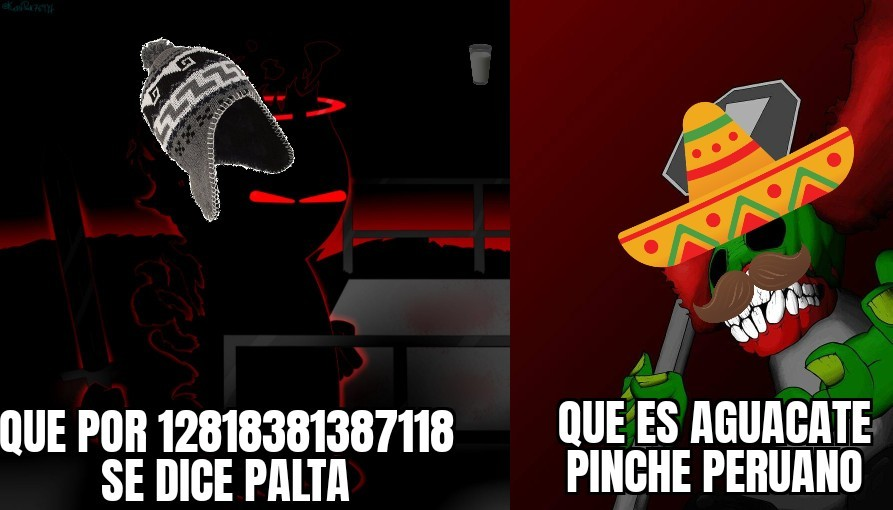 Palta en México=testículos=los mexicanos entienden muy bien el doble sentido - meme