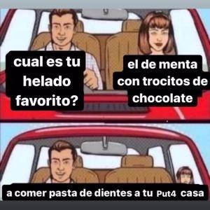 TRAGA PASTA DE DIENTES - meme