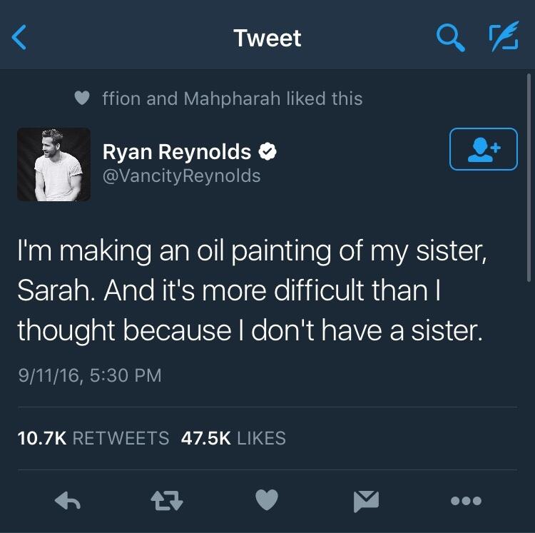 Ryan Reynolds is the best - meme