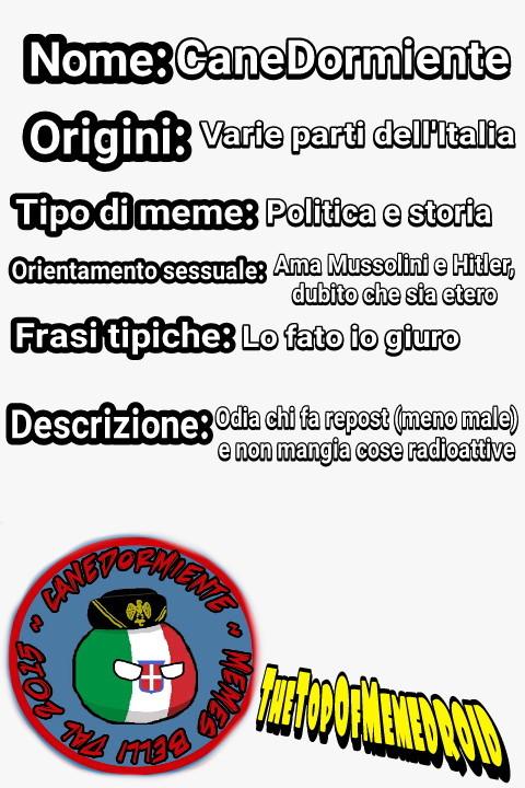Cito CaneDormiente - meme