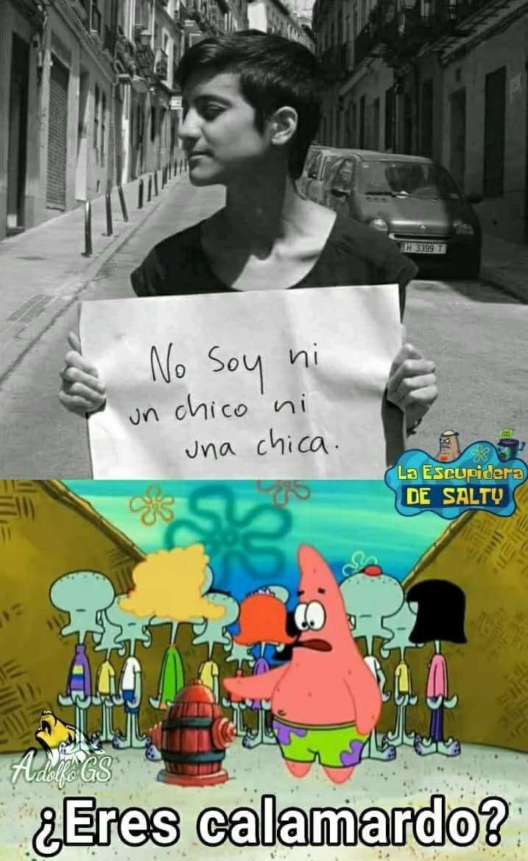 calamar do eres tu? - meme