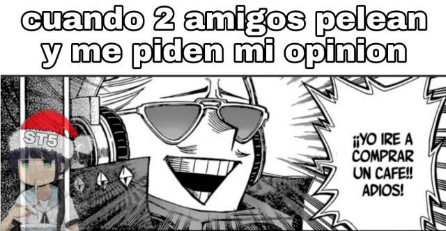 Anime/manga: boku no hero academia - meme