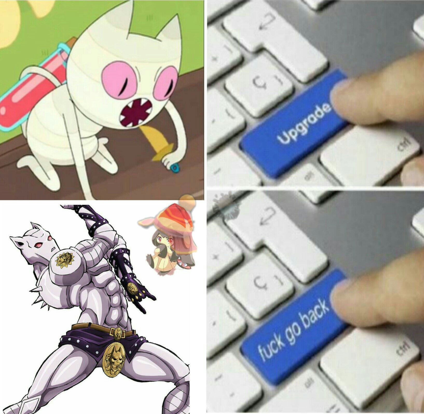 Killer queen, daiso no bakugan. Bites the dust! - meme